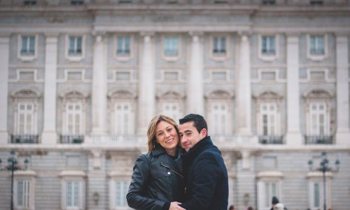 Preboda en Madrid. Cris y Andres. Photogenia Profesionales